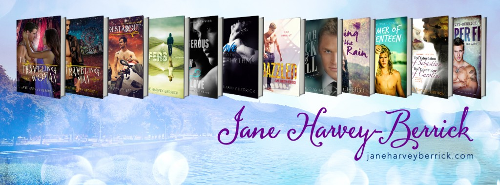 Jane Harvey-Berrick Author Banner