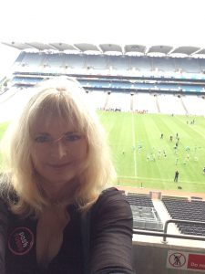 At Croke Park Stadium, home of Irish rugby