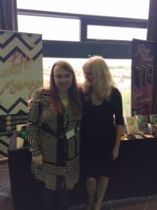 with lovely author L H Cosway