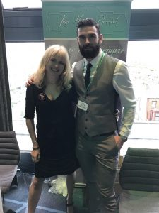 With Stuart Reardon in Dublin