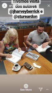 Signing at Record