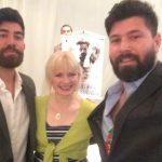 me with Manu and Franggy